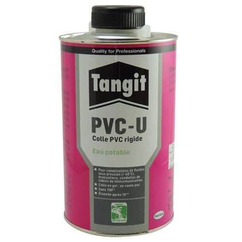 COLLE EN GEL POUR PVC RIGIDE - CERTIFIEE EAU POTABLE : 1 KG