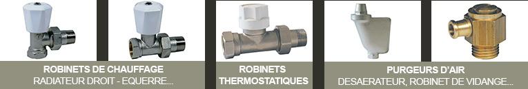 robinetterie de radiateur