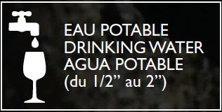 eau potable agrément
